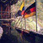 Ecuadorian and German Flags
