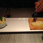 Caramelized apple tart