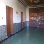 pasillo de habitaciones de la parte superior