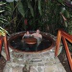 Jacuzzi near pool