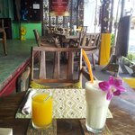 Banana Shake a orange juice