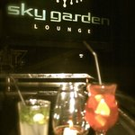 Drinks at Sky Garden