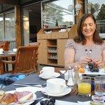 Delicioso café da manhã no Novotel Sophia Antipolis - França