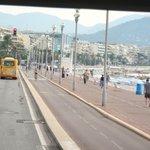 Avenida beira mar- Nice França
