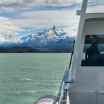 View from Boat approaching Estancia Cristina