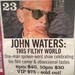 John Waters at Yoshi's San Fran