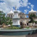 The central square of Leon.