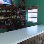 Loretta at the bar