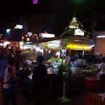 KO restuarant from the night market