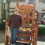 Me at the rocking chair
