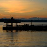 Sunset at Coulon