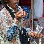 a street seller