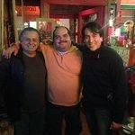 Con el anfitrión, Jorge Marín el Greñas.