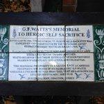 Descriptive plaque