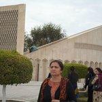 Just In-front of Chashma Ayub Mausoleum- An Impressive Monument of Imam Al-Bukhari