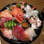 Sashimi choice by the chef