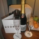 'Champers for Hubby's birthday'