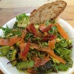 Smoke Salmon Salade