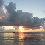 Sunrise over Diani Beach