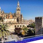 Buongiorno Siviglia!! Che risveglio dalla SUITE ALCAZAR