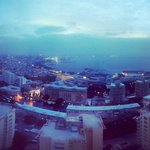 Baku sunrise from Fairmont hotel 16th floor