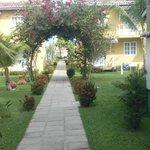 Parque del hotel