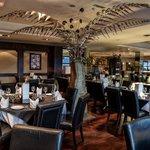 Aagrah Leeds dining area