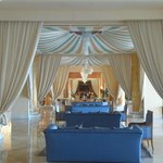 Beduin Style Drapes in Lounge Areas