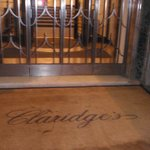 The Foyer At Claridge's Foto