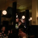 Blick auf die Bar