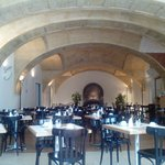 Breakfast Hall - nice nut mostly full of people, and loud acoustics