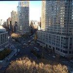 Blick aus dem Fenster, 10. Stock, Zimmer 1021