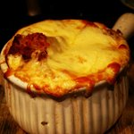 French onion gratinee soup