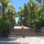 Walkway from Beach