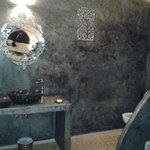 Maravilloso baño de la habitación GRIS