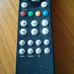 dust and grease on tv remote