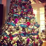 Christmas Tree in Hotel
