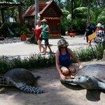 Foto do ponto de apoio (Bora Bora)