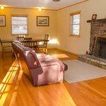 Living Area in Capitan Lodge