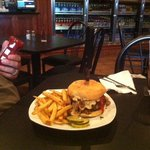 The big Louie !! A one pound burger full of sooo much flavor !! A must have if you are a burger