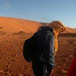 De paseo en camello por las dunas de Merzouga