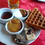 Cafe da manhã maravilhoso e suas variedades