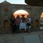 Con Youseff propietario del Azalay