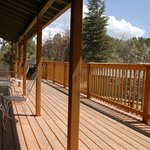 Deck at Sierra Blanca and Capitan Lodges