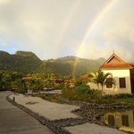 Rainbow at Buccament Bay