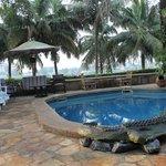 Pool at the Napoleon Lagune Hotel