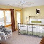 Master Bedroom, one Bedroom Cabin