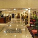 la Réception de l'hotel