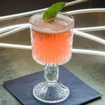 """Our twist on a Gin Sour, the """"Purple Ruin"""""""