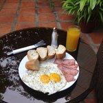 Enjoyed the breakfast here!